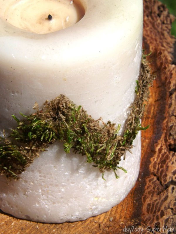 DIY Mossy Washi Tape