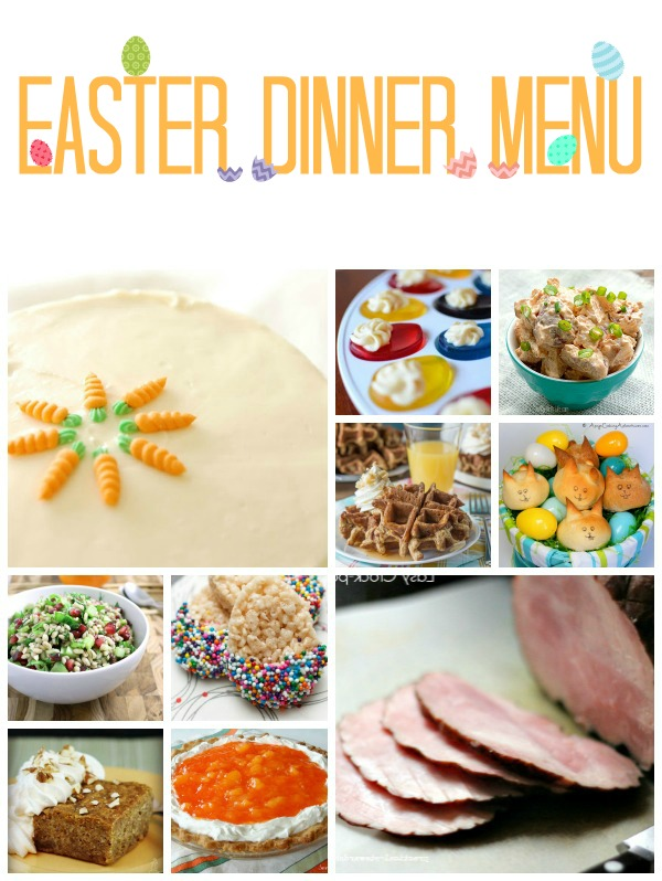 Share it thursday from link party 39 tgif this for Easy easter lunch menu