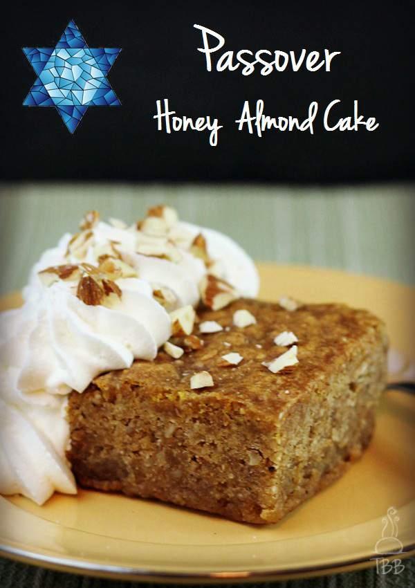Passover-Honey-Almond-Cake