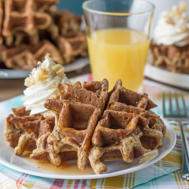 Whole-Wheat-Carrot-Cake-Waffles