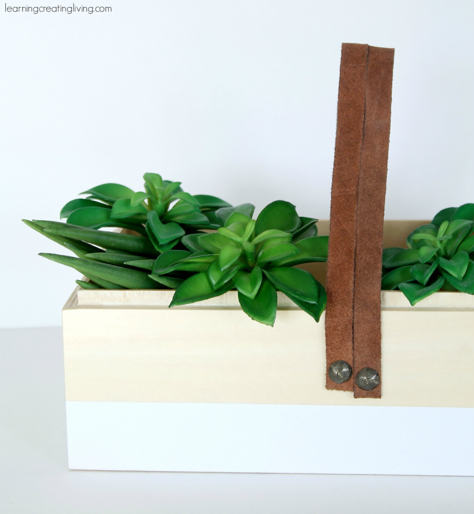 DIY-Leather-Handle-Box