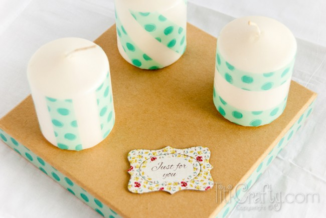 DIY-Washi-Tape-Candles
