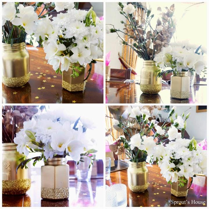Gold-Glitter-Mason-Jar-Collage