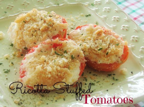 Ricotta-Stuffed-Tomatoes