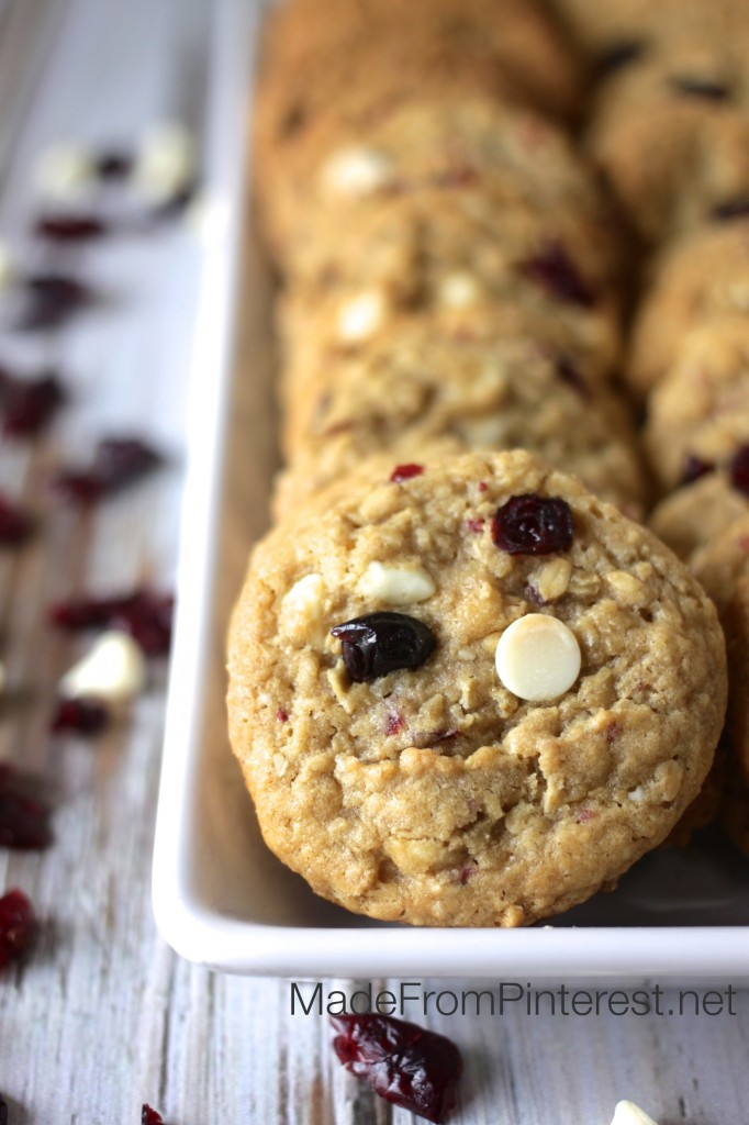 Snarky Revolution Cookie - This recipe makes a mean cookie. See that snarky face?Seriously, these cookies are soooooo good! Oatmeal, white chips, dried blueberries and dried cranberries make a delicious red, white and blue patriotic cookie.
