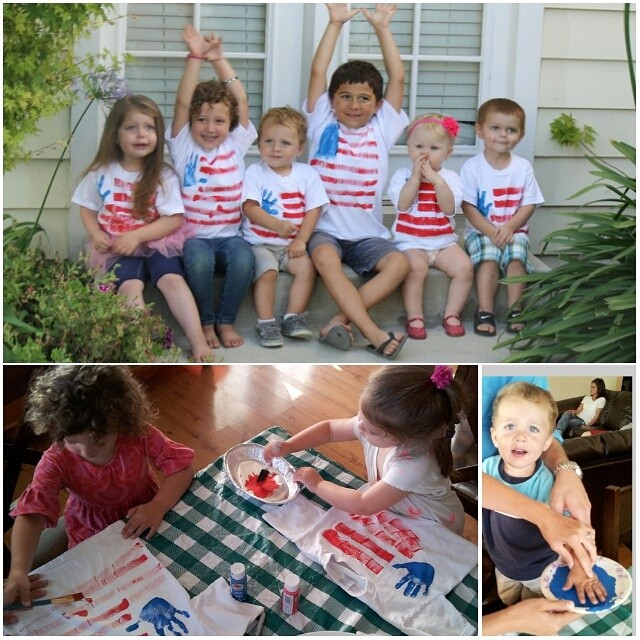 4th of July Kids Tee Shirts