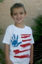 4th of July Kids Tee Shirt
