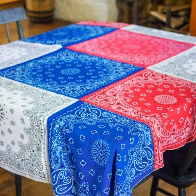 4th of July Bandanna Tablecloth