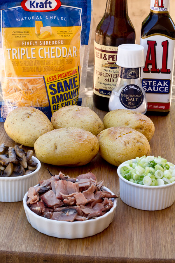 Potato Skins - Philly Cheese Steak Style - These are not your ordinary potato skins! Roast beef and mushrooms with some special seasoning make these hearty enough to enjoy for a meal. Best part is they are quick and easy to make!