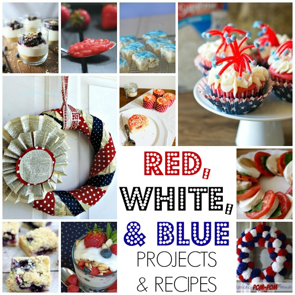 Red White Blue Link Party Favorites
