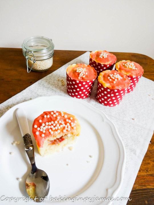 Rhubarb-Custard-Cupcakes
