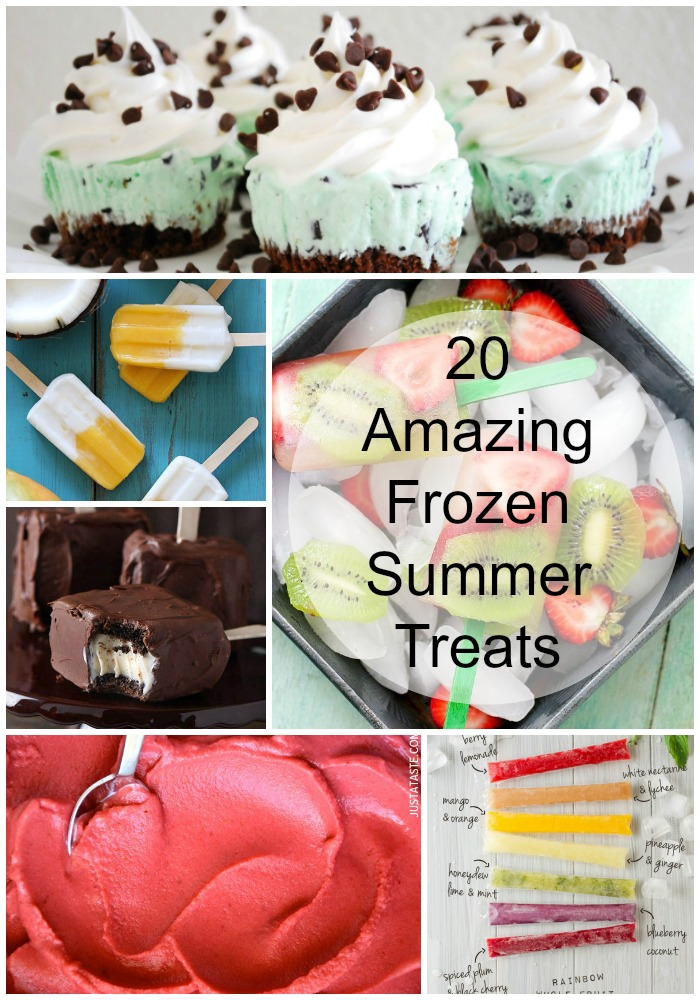 20 Amazing Frozen Summer Treats to help you keep your cool!