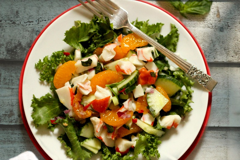 Crab-and-Mandarin-Salad