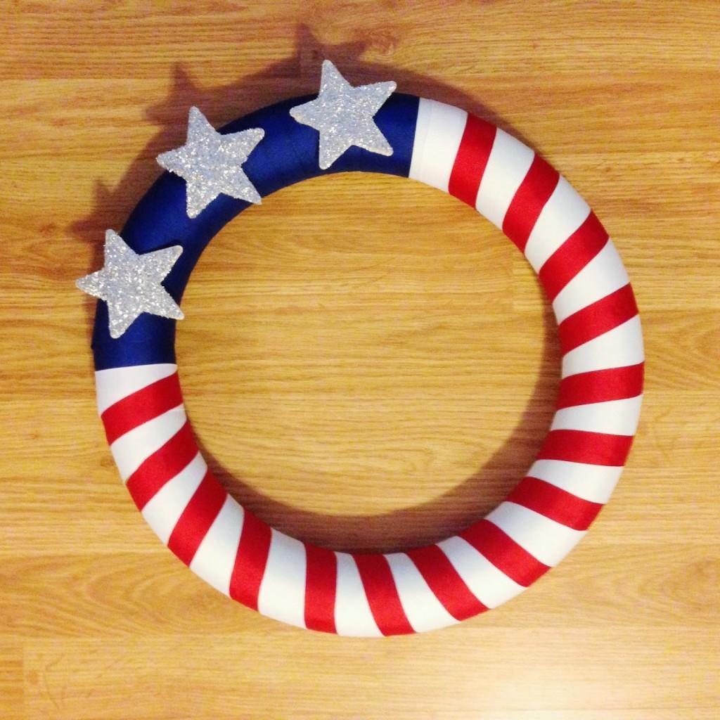 Flag-Door-Wreath