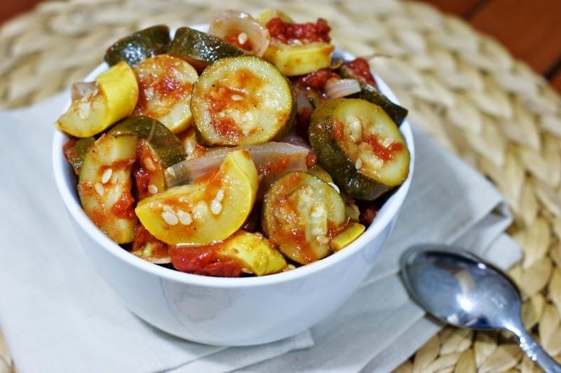 Stewed Zucchini and Summer Squash