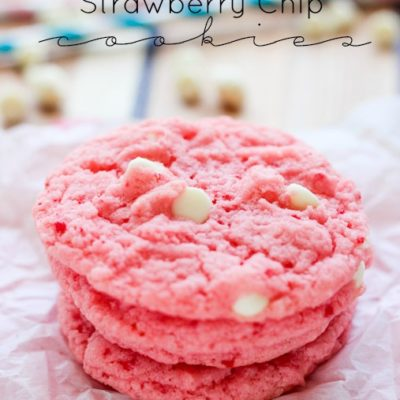 Strawberry Chip Cookies
