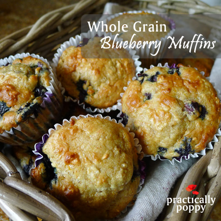 Whole-Grain-Blueberry-Muffins