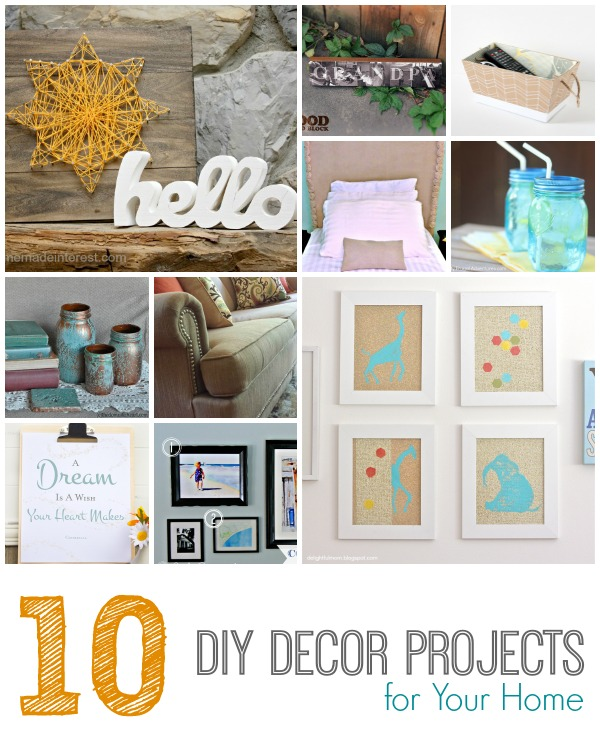 Share it thursday 55 made from pinterest Diy home decor crafts pinterest