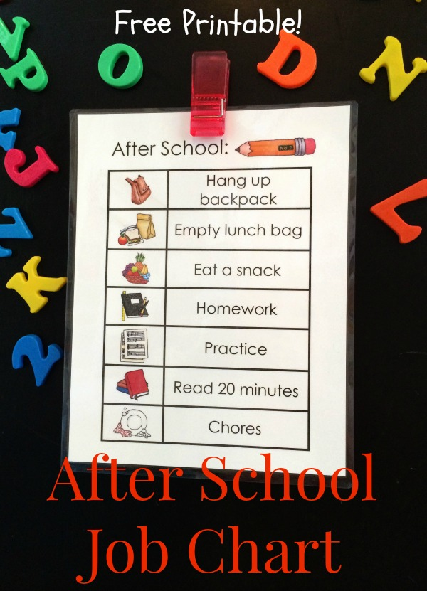 After School Printable 12