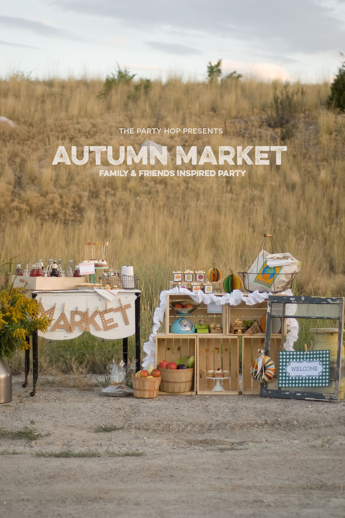 Autumn Market - 10 amazing bloggers have come together to bring you this delightful Autumn Market. It'a a week long blog hop  full of Autumn crafts, printables, game and food ideas!