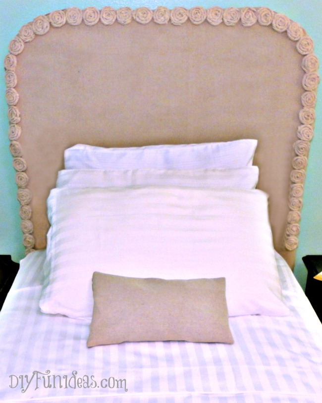 DIY-No-Sew-Headboard