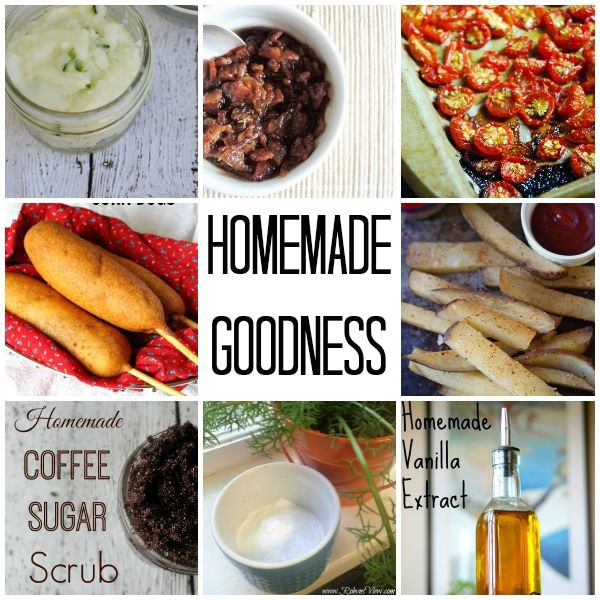 Homemade Recipes and Tips Collage