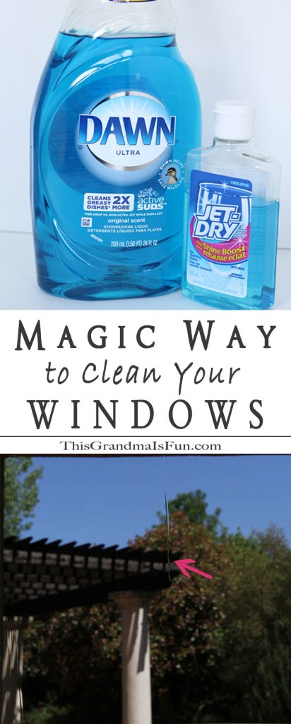 the magic way to clean your windows tgif this grandma is fun. Black Bedroom Furniture Sets. Home Design Ideas