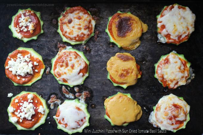 Mini-Zucchini-Pizzas-with-Sun-Dried-Tomato-Basil-Sauce