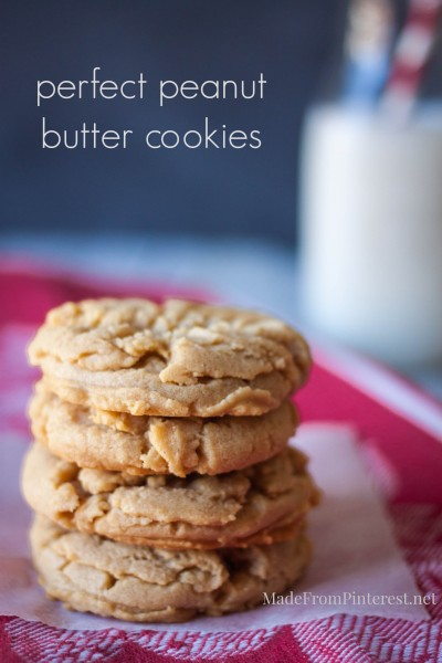 Perfect Peanut Butter Cookies - These are the best. Stays so soft they practically melt in your mouth!