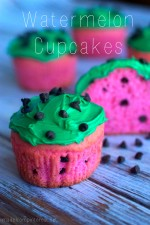 Watermelon cupcakes that are super quick tomake!
