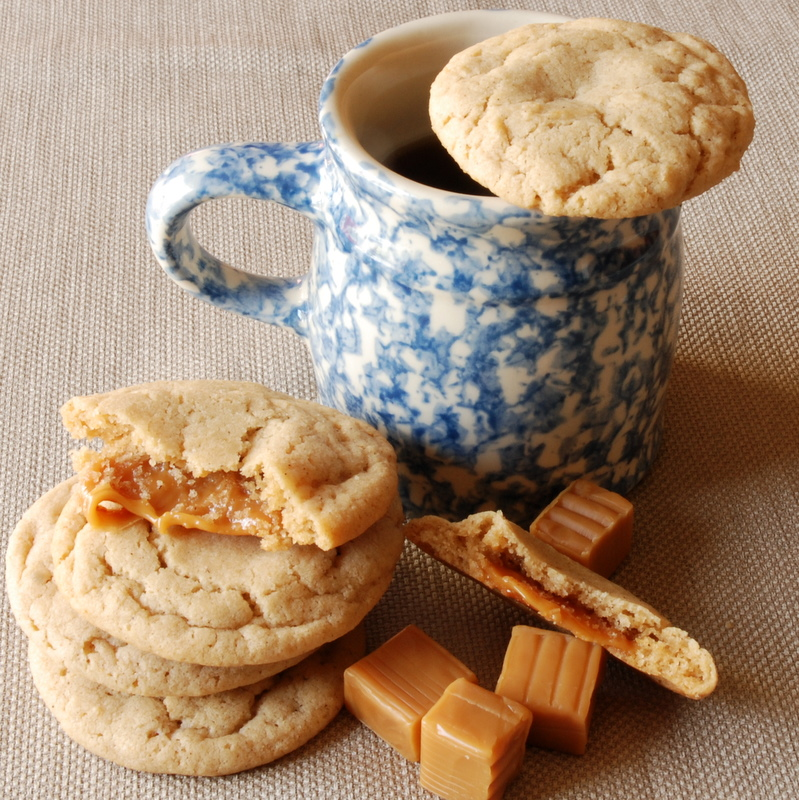 Apple-Cider-Caramel-Cookies