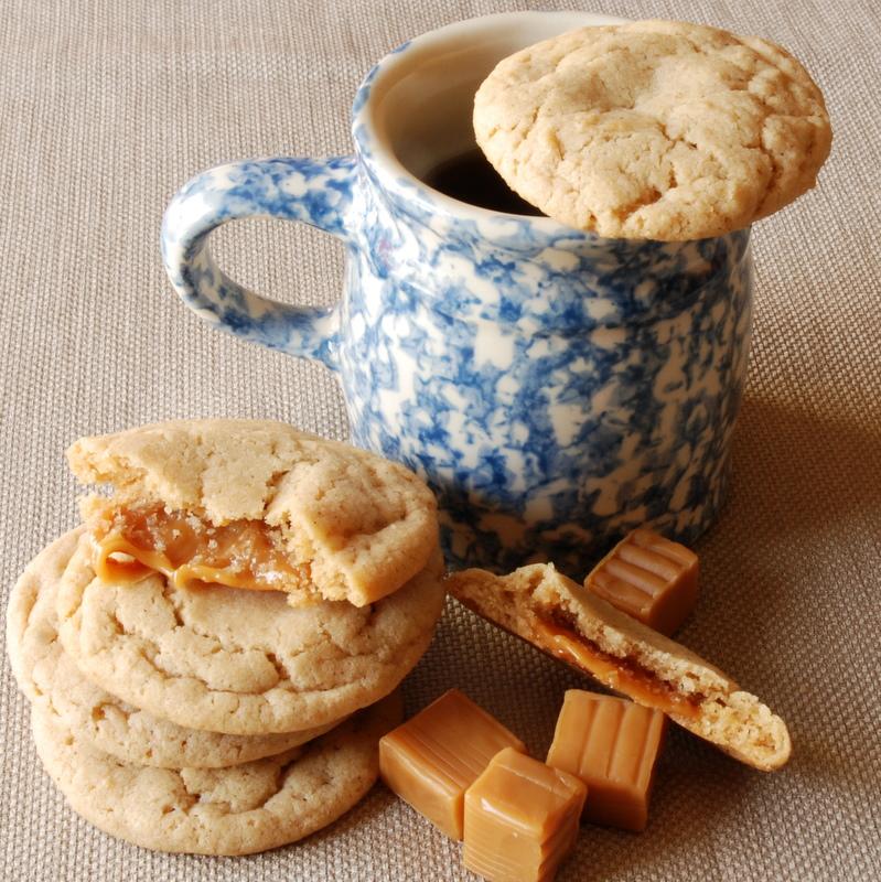 Apple-Cider-Caramel-Cookies