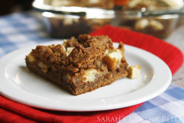 Apple-Gingerbread-Bars