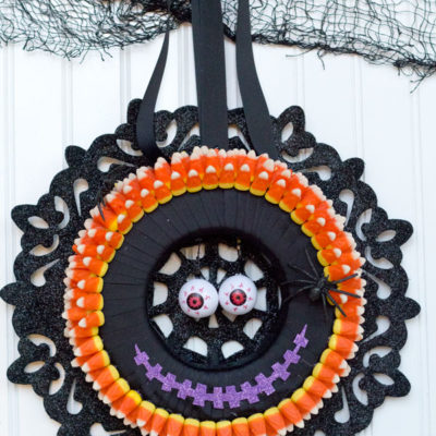 Halloween Wreath and Dollar Tree Giveaway!