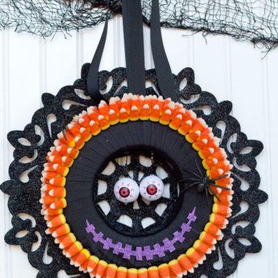 Halloween Wreath and Dollar Tree Giveaway!
