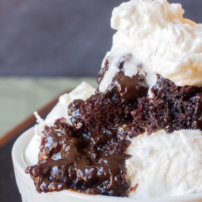 Easy Molten Chocolate Lava Cake