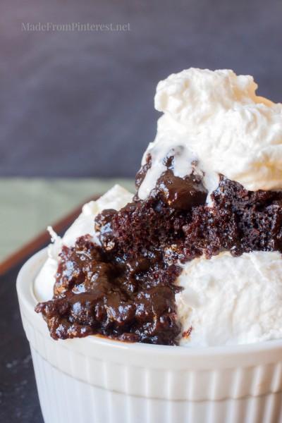 Molten lava cake recipe using cake mix