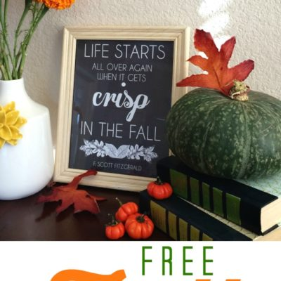 September Free Printable