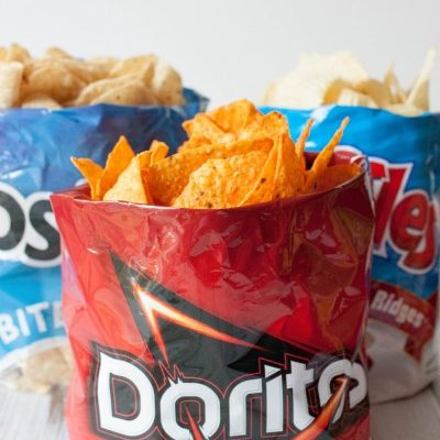 How to Turn a Chip Bag Into a Bowl