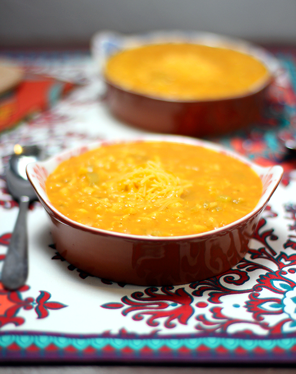 Pumpkin-Corn-Soup