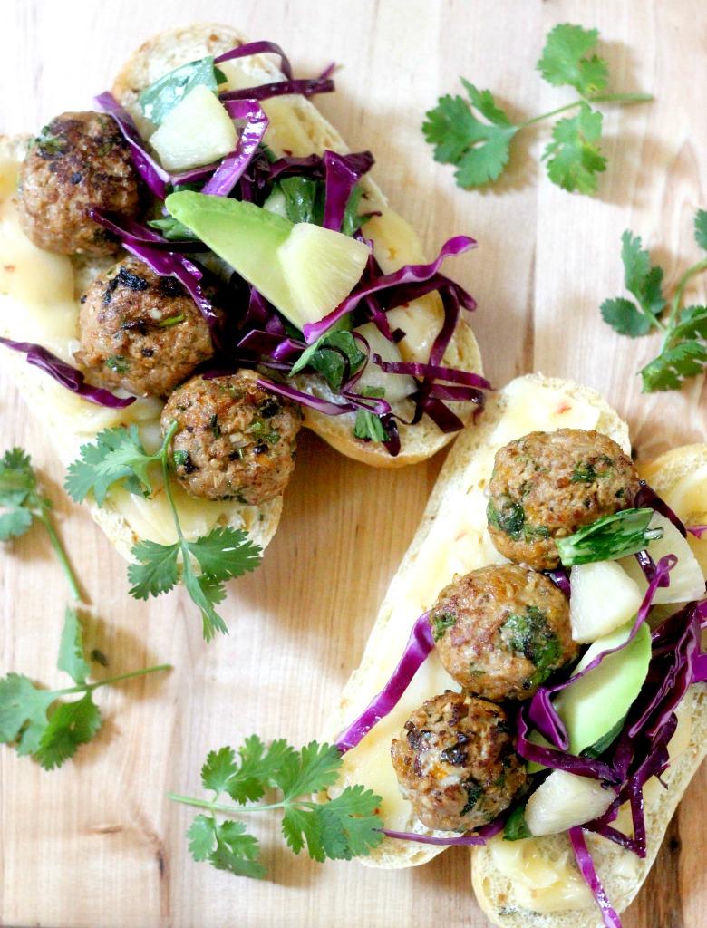 Turkey-Veggie-Meatball-Subs