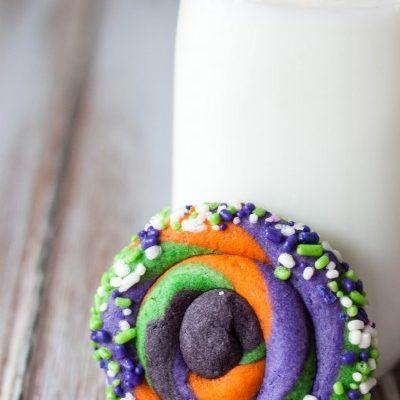Twisted Halloween Sugar Cookies