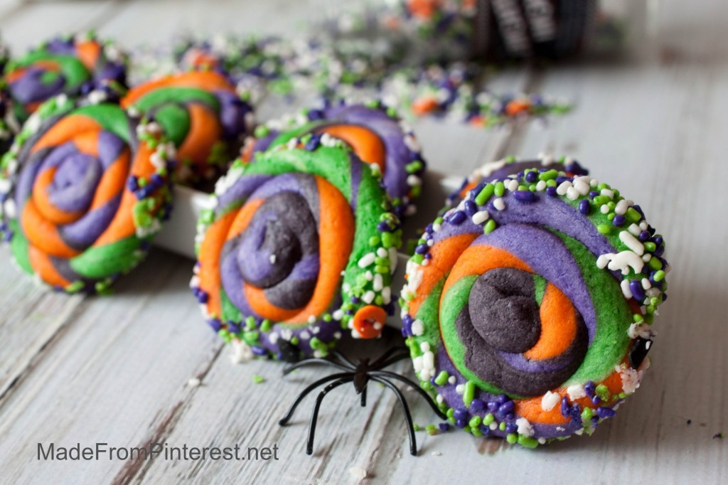 Twisted Halloween Sugar Cookies-These really stand out!