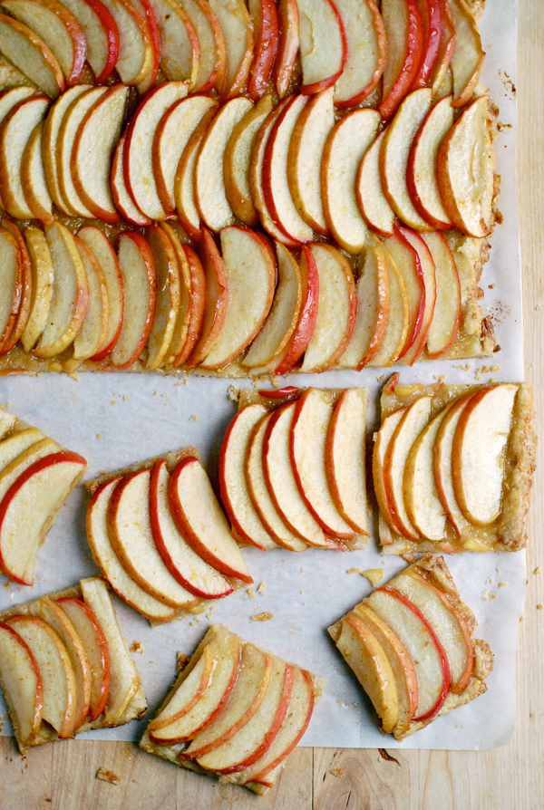 Brown Butter Apple Tart Recipe — Dishmaps
