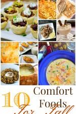 10 Fall Comfort Foods