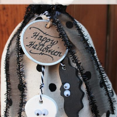 DIY Halloween Tags