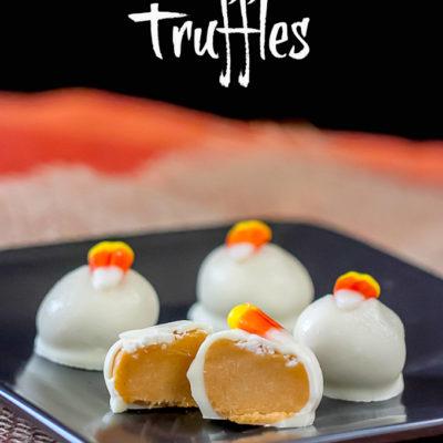 Candy Corn Oreo Cookie Truffles