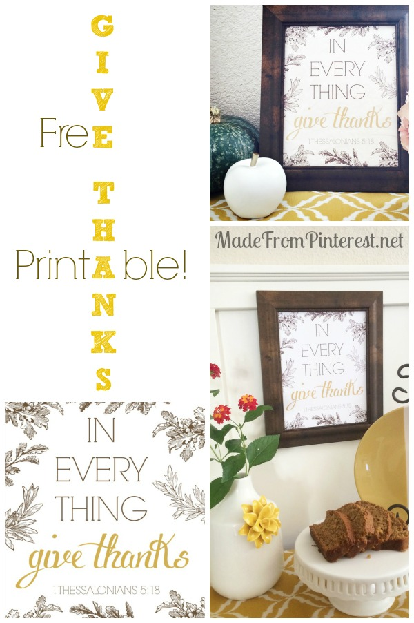 photograph relating to Give Thanks Printable identified as Present Due - Cost-free Printable - TGIF - This Grandma is Exciting