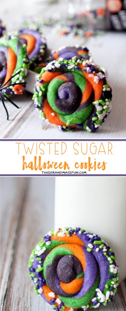Twisted Halloween Sugar Cookies-These capture everyone's attention!
