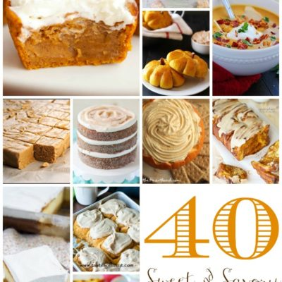 40 Sweet & Savory Pumpkin Recipes: 11-20